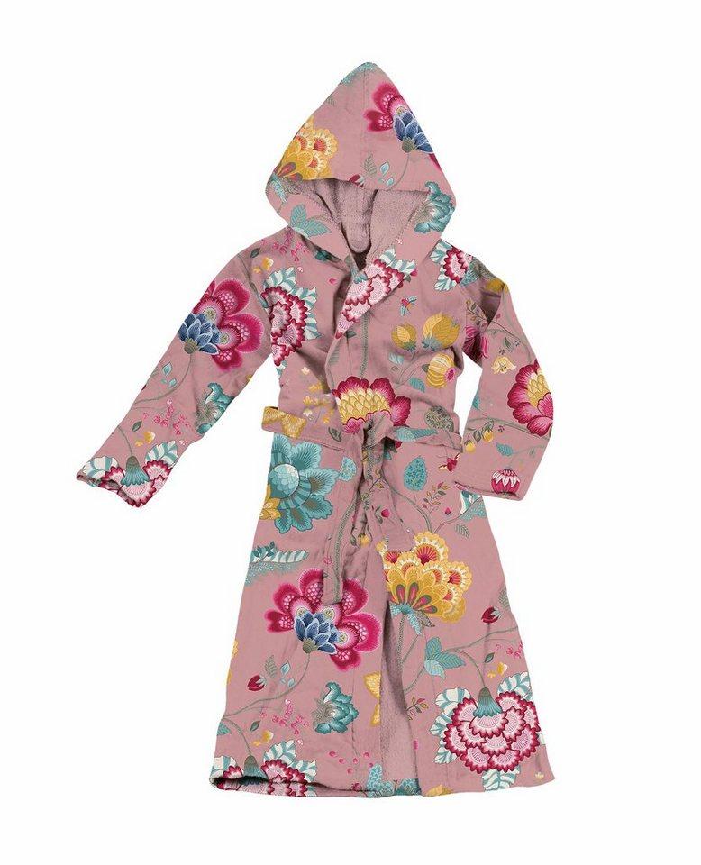 Damenbademantel, PiP Studio, »Floral Fantasy«, mit Blüten in pink
