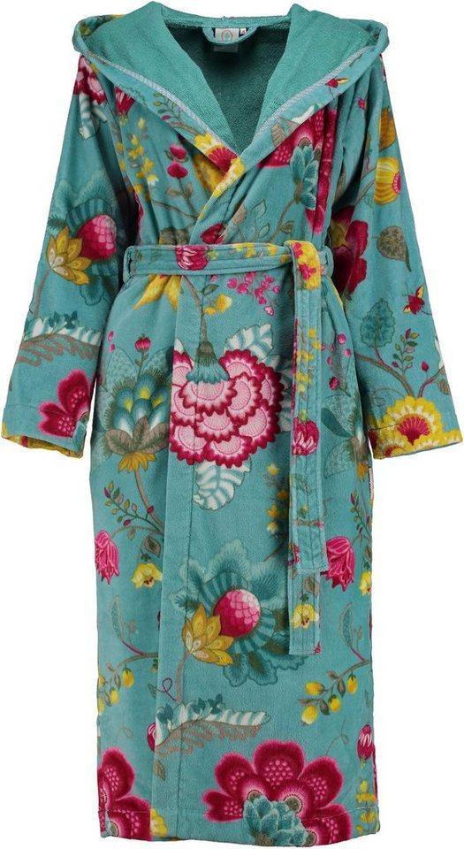 damenbademantel pip studio floral fantasy mit bl ten online kaufen otto. Black Bedroom Furniture Sets. Home Design Ideas