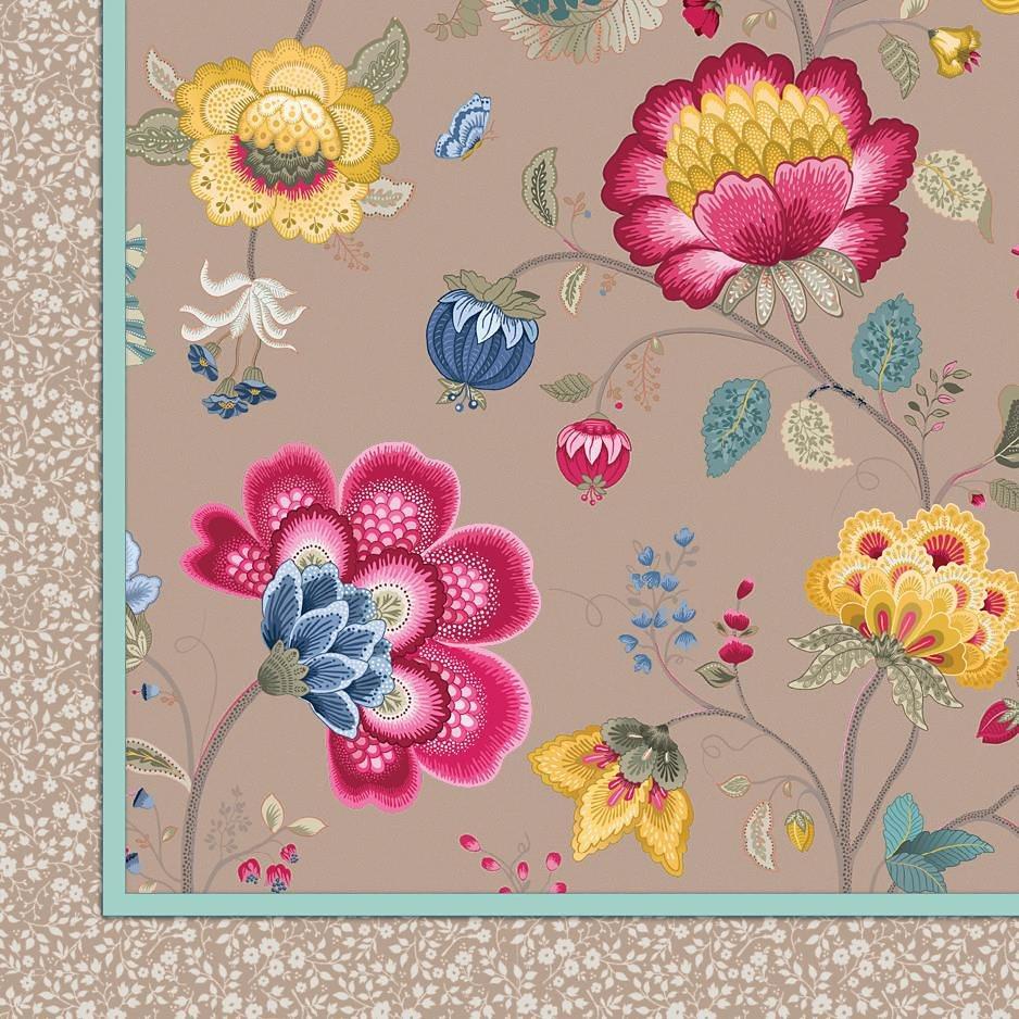 Tagesdecke, PiP Studio, »Floral Fantasy«, mit Blüten in khaki