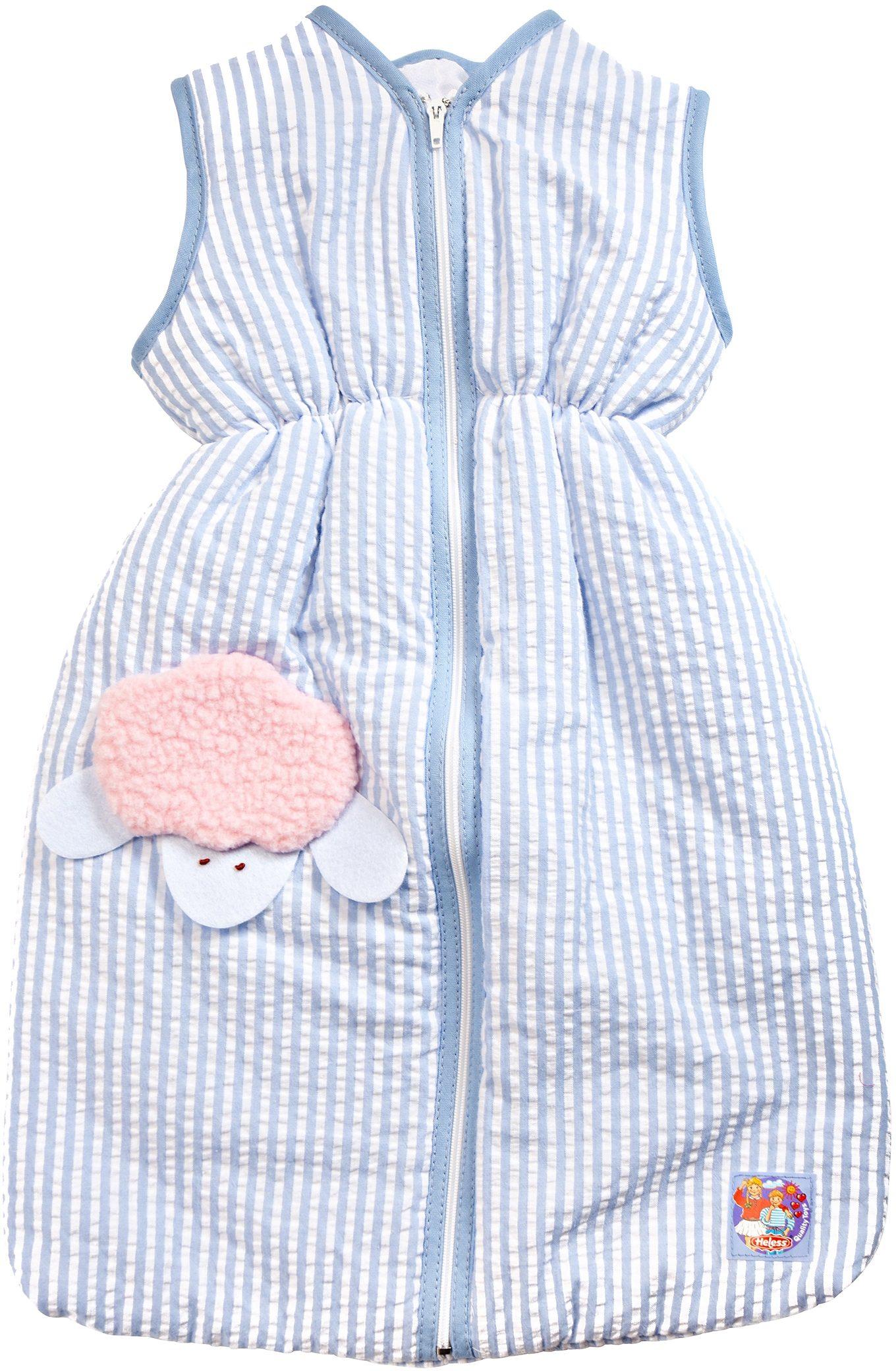 Heless® Puppenzubehör, 37 cm, »Schlafsack blau«