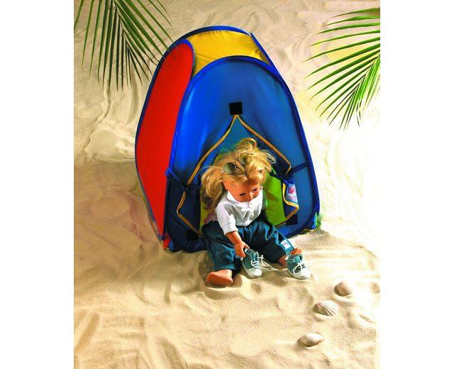 Heless® Pop Up Zelt für Puppen mit Aufbewahrungsbeutel