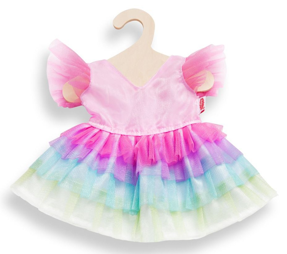 Heless® Puppenkleid Größe 28-35 o. 35-45 cm, »Regenbogenfee«