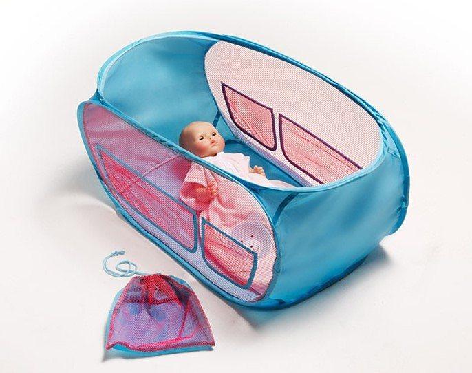 Heless® Puppenreisebett mit Aufbewahrungstasche