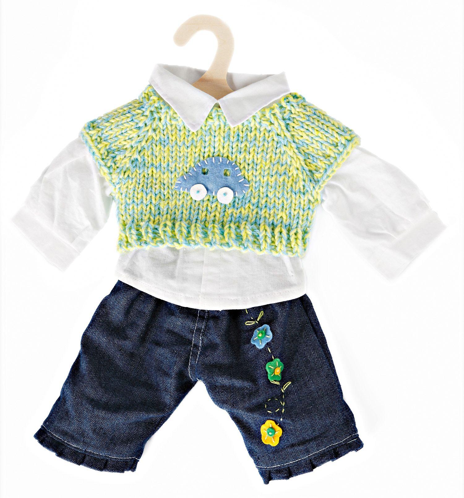 Puppen & Zubehör Babypuppen & Zubehör Heless Puppenkleidung Jacke mit Jeans in 2 Größen