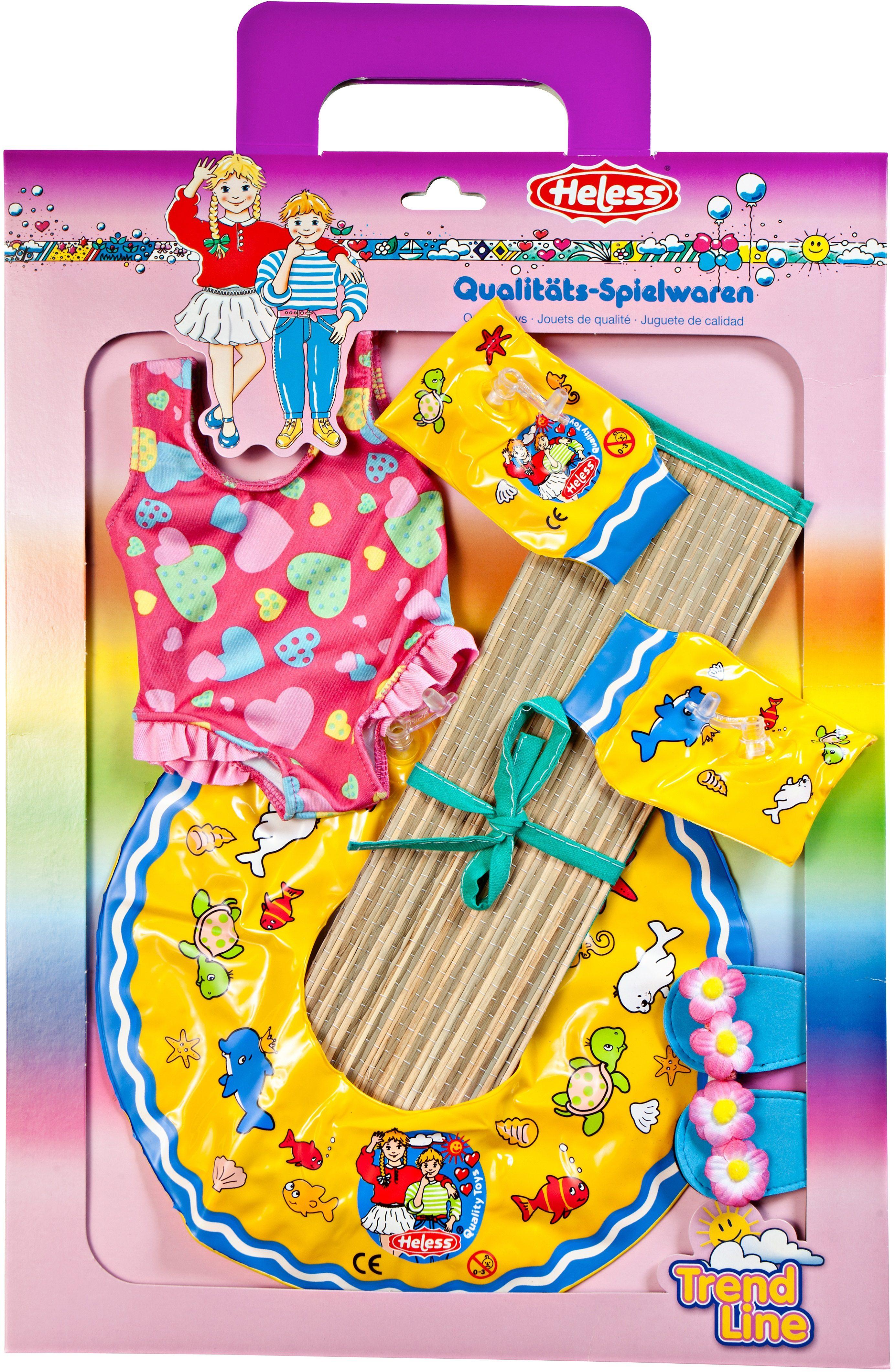 Heless® Schwimmset für Puppen Größe 35-45 cm