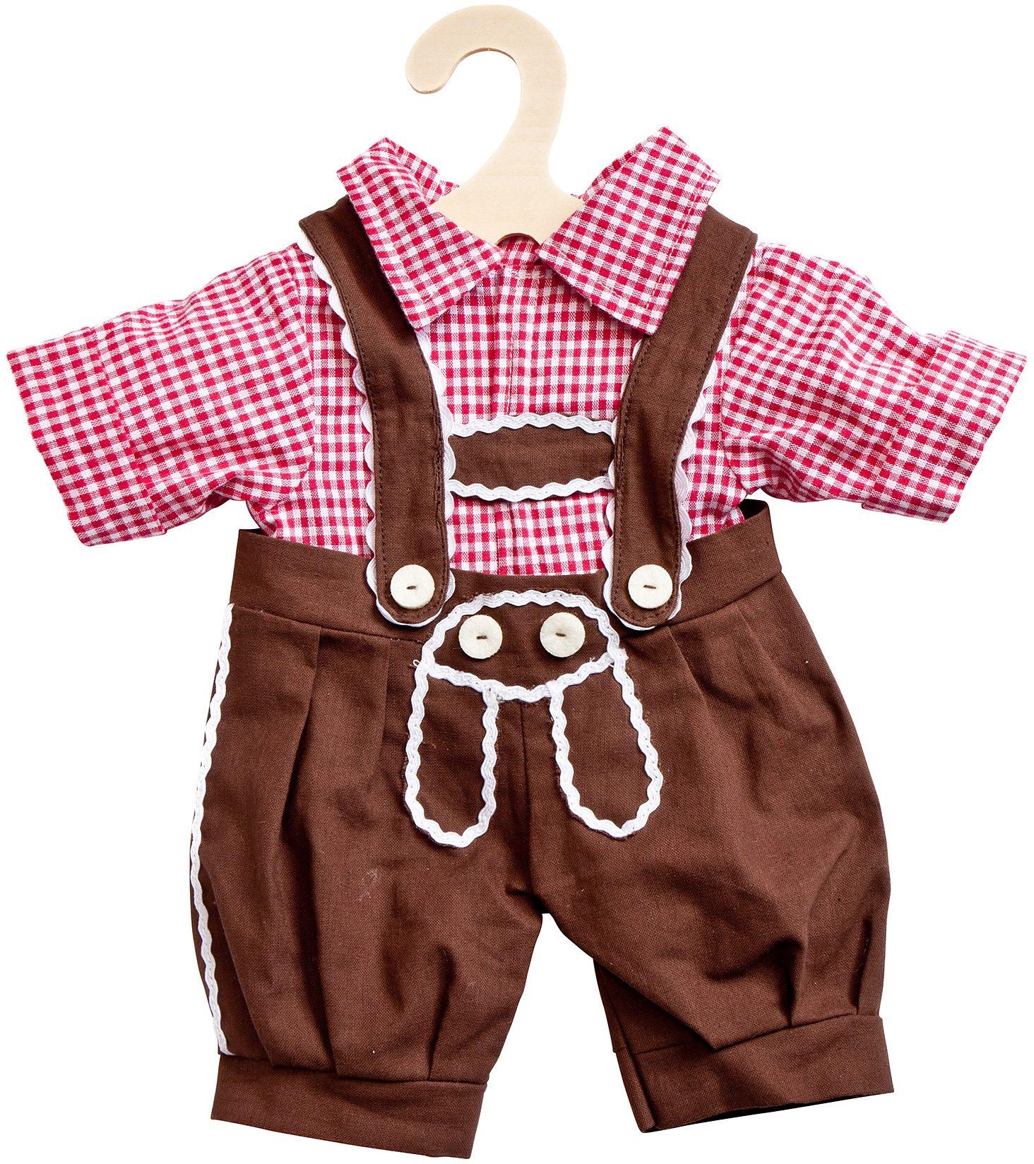 Heless® Puppenkleidung Größe 28-33 cm, »Kniebundhose mit Hemd« (2tlg.)