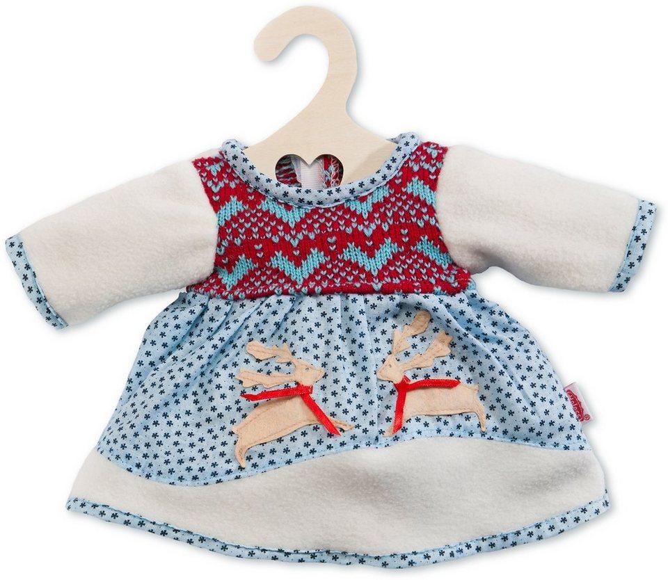 Heless® Puppenkleidung Größe 28-33 cm o. 35-45 cm, »Winterkleid«