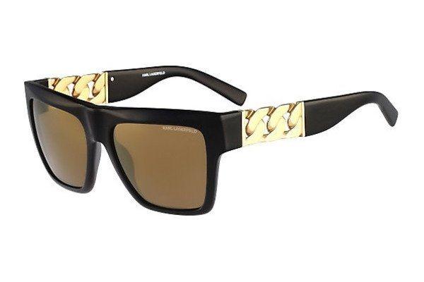 KARL LAGERFELD Damen Sonnenbrille » KL843S« in schwarz