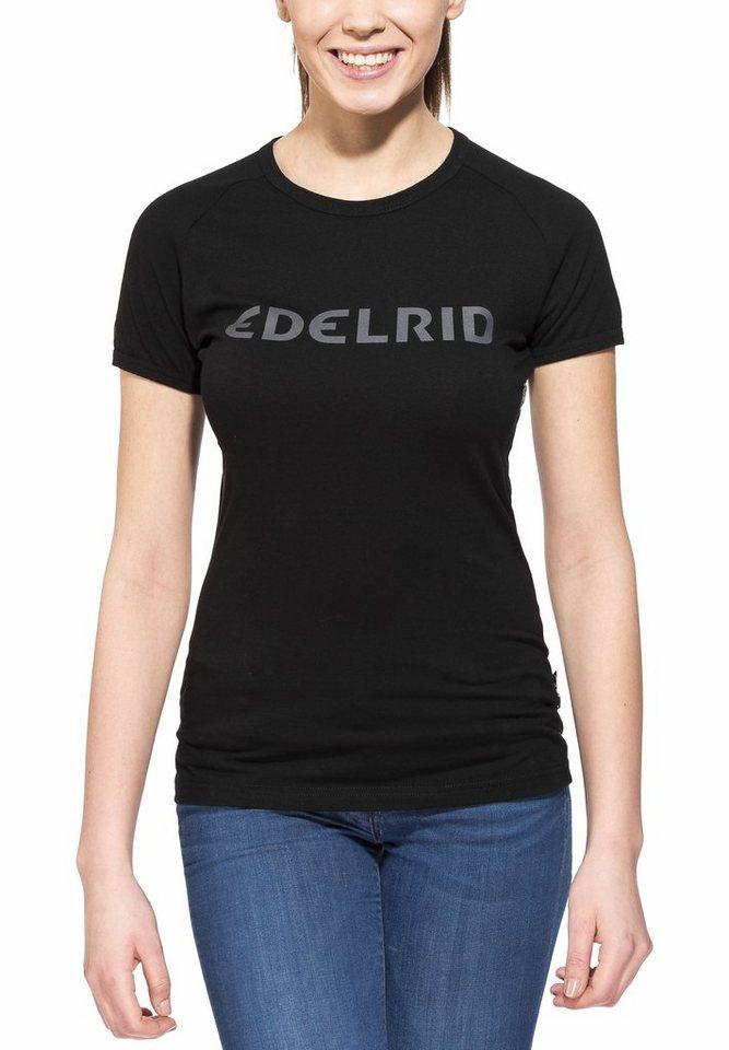 Edelrid T-Shirt »Rope T-Shirt Women« in schwarz