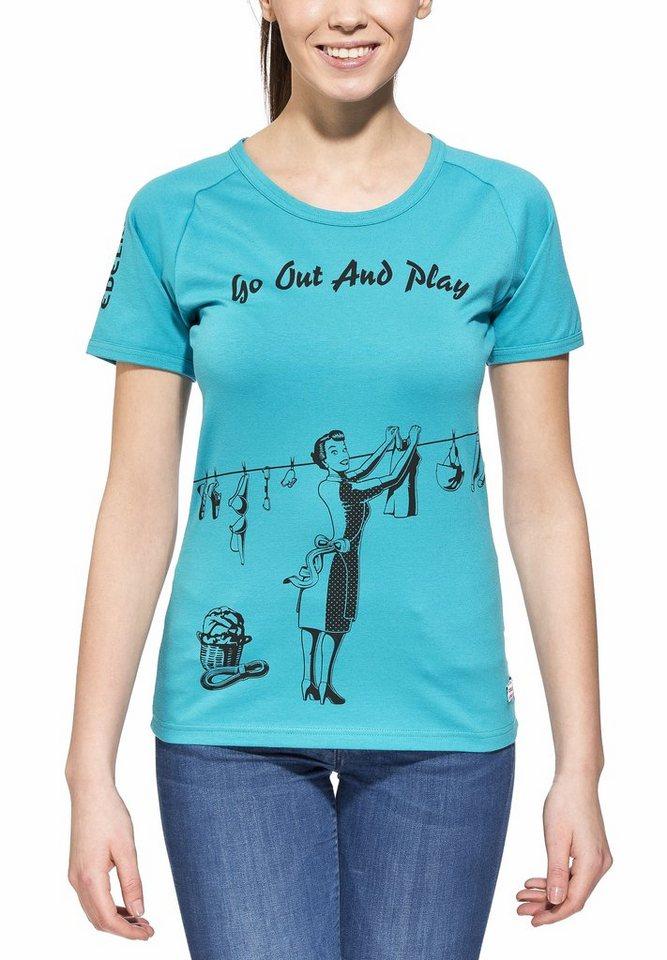 Edelrid T-Shirt »Gearleader T Women« in türkis
