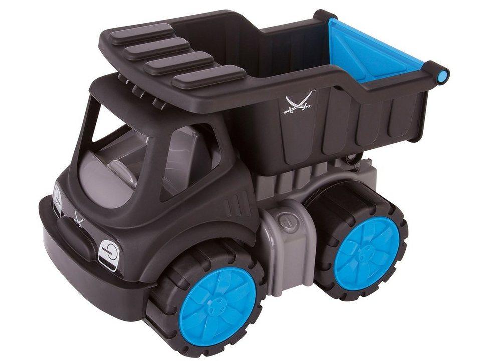 BIG Spielfahrzeug mit kippbarer Ladefläche, »BIG Power Worker Kipper Sansibar« in schwarz