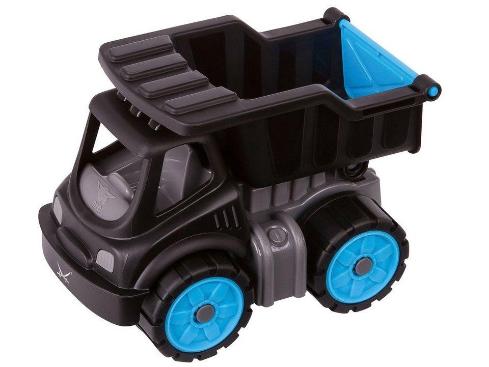 BIG Spielfahrzeug mit kippbarer Ladefläche, »BIG Power Worker Mini Kipper Sansibar« in schwarz