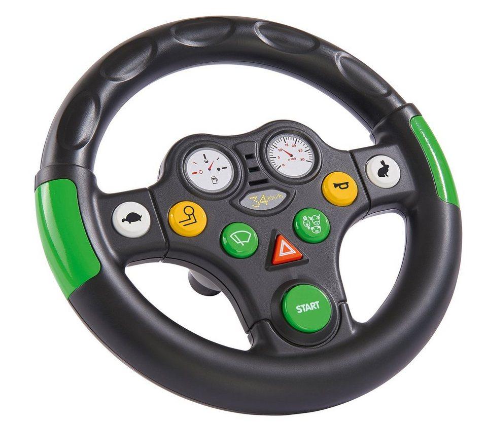 BIG Lenkrad mit Soundfunktion, »BIG Tractor Sound Wheel« in schwarz