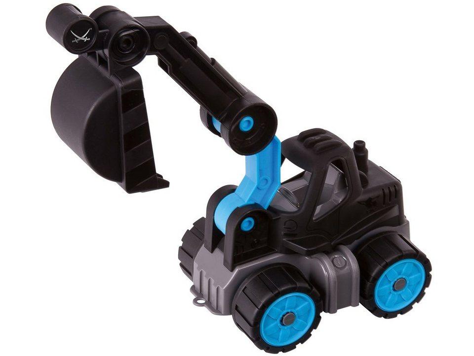 BIG Spielfahrzeug mit beweglichem Arm, »BIG Power Worker Mini Bagger Sansibar« in schwarz