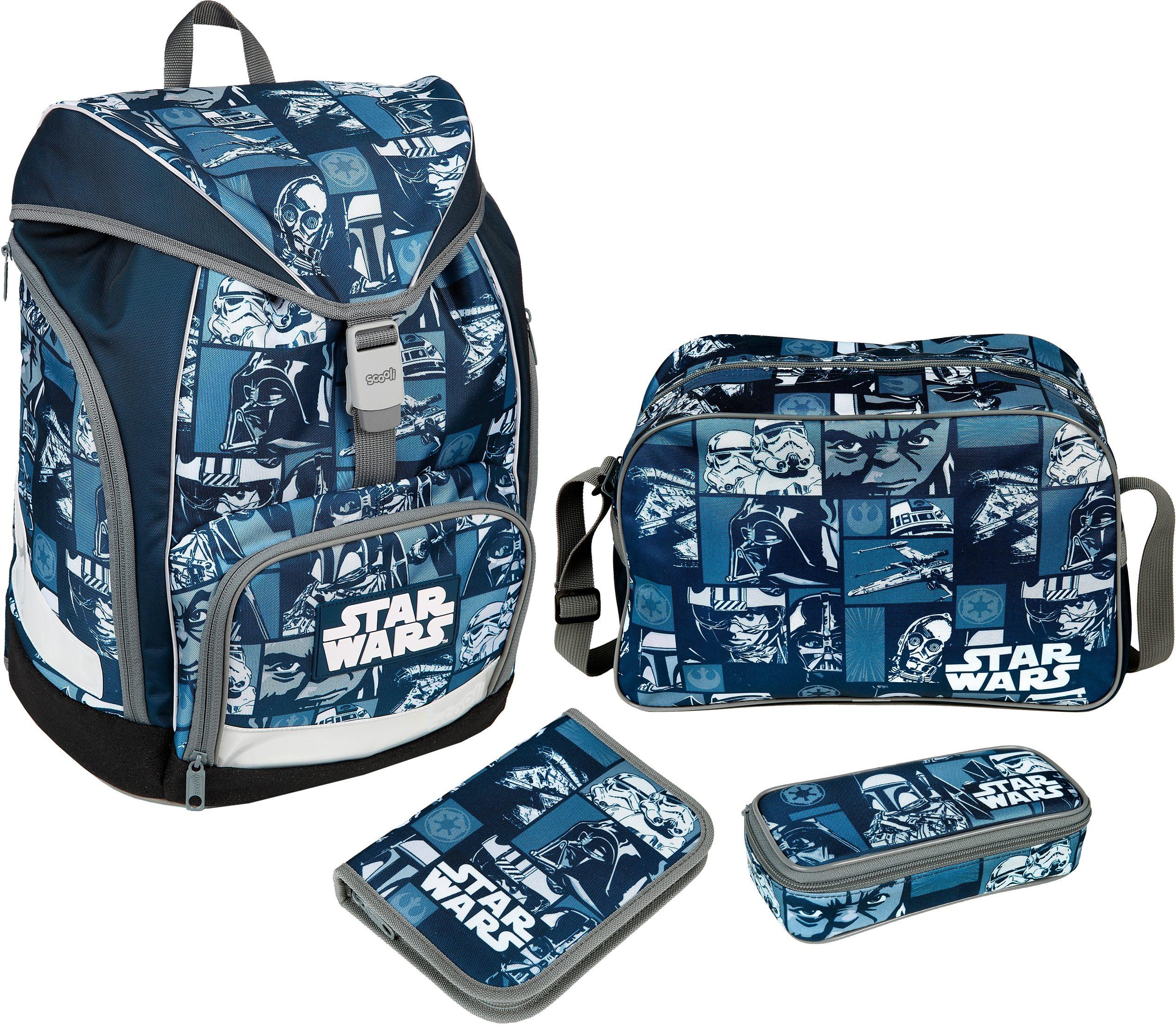 Scooli Schulrucksack Set 4-tlg., »TWIXTER Star Wars«