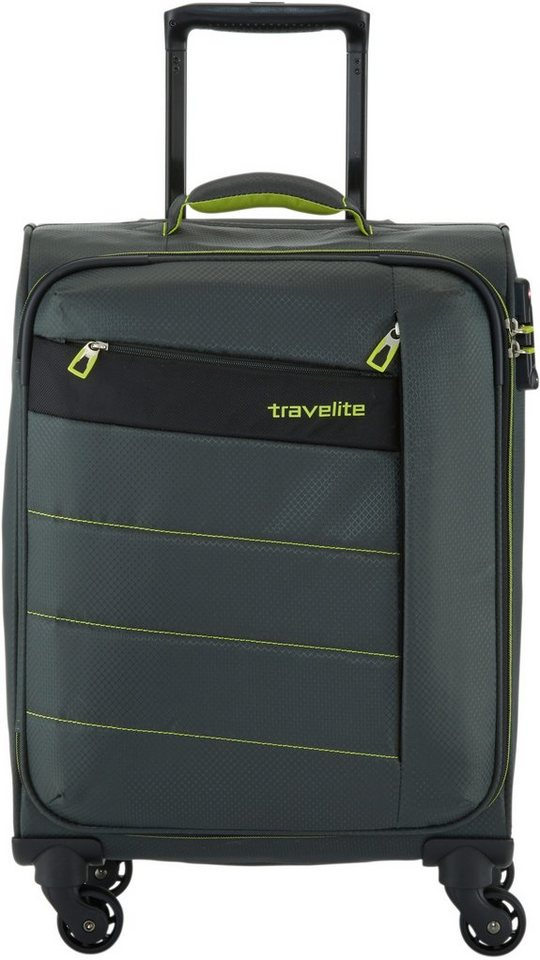 travelite Trolley mit 4 Rollen, »Kite« in oliv