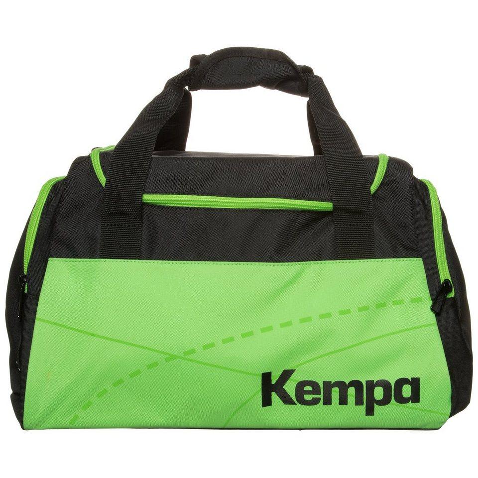 KEMPA Teamline Sporttasche Kinder in schwarz/fluo grün