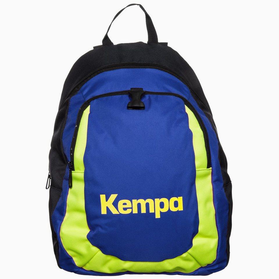 KEMPA Rucksack Kinder in marine/royal/gelb