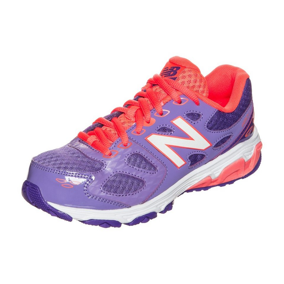 NEW BALANCE KR680-CPY-M Laufschuh Kinder in lila / orange