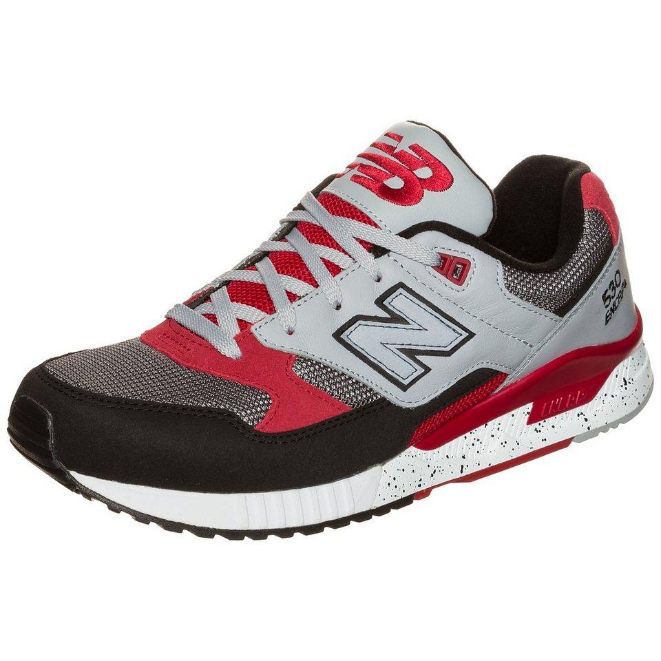 NEW BALANCE M530-PSB-D Sneaker in schwarz / grau / rot