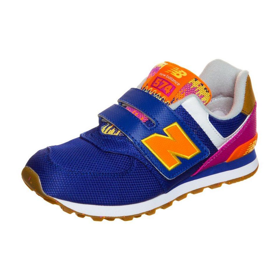 NEW BALANCE KV574-T5Y-M Sneaker Kinder in lila / pink / orange