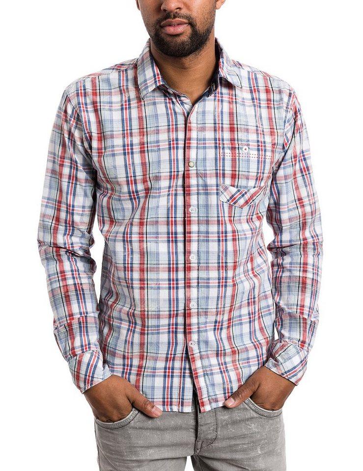 TIMEZONE Hemden »Longsleeve shirt« in red fineline check