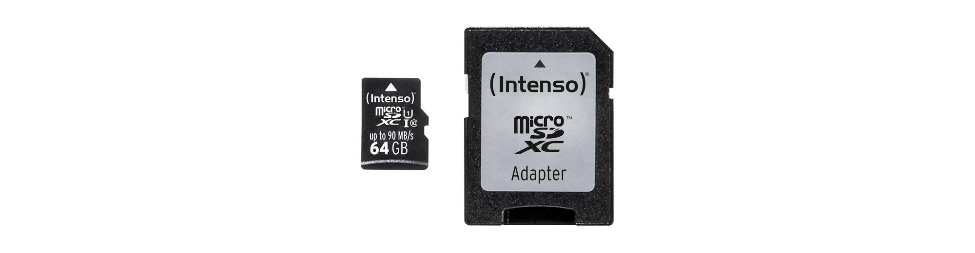 Intenso Speicherkarte »64 GB microSDXC«