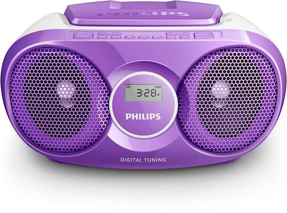 Philips CD-Soundmachine »AZ215/12« in lila