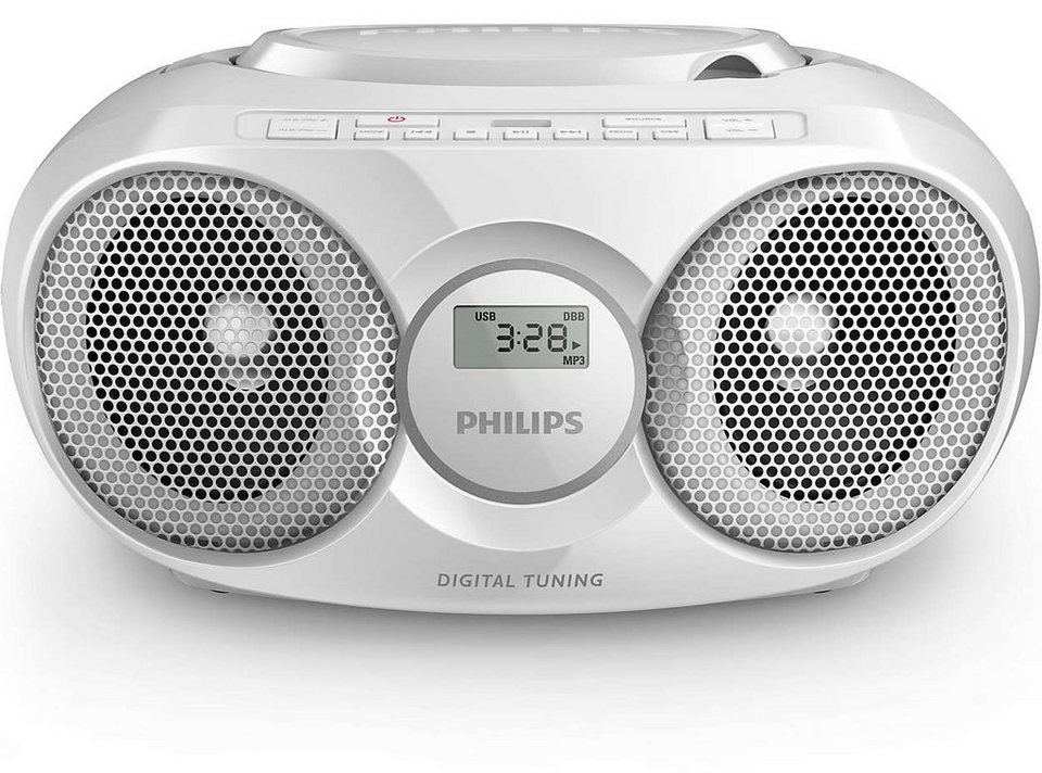 Philips CD-Soundmachine mit USB Direct »AZ318/12« in weiss