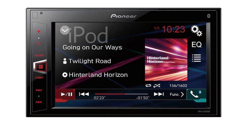 PIONEER 2-DIN Receiver mit Bluetooth »MVH-AV280BT«