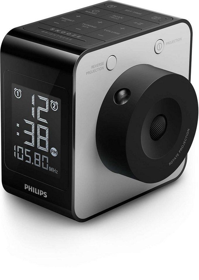 Philips Radiowecker »AJ4800/12« in schwarz
