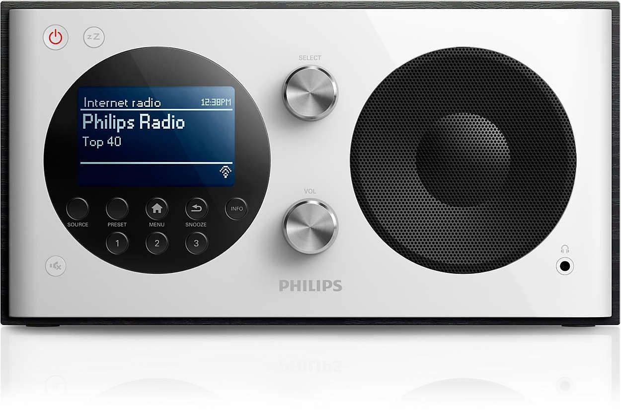 Philips Internetradio mit DAB+ und FM »AE8000/10«
