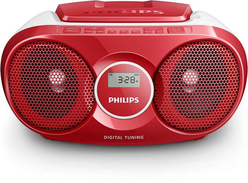 Philips CD-Soundmachine »AZ215/12« in rot