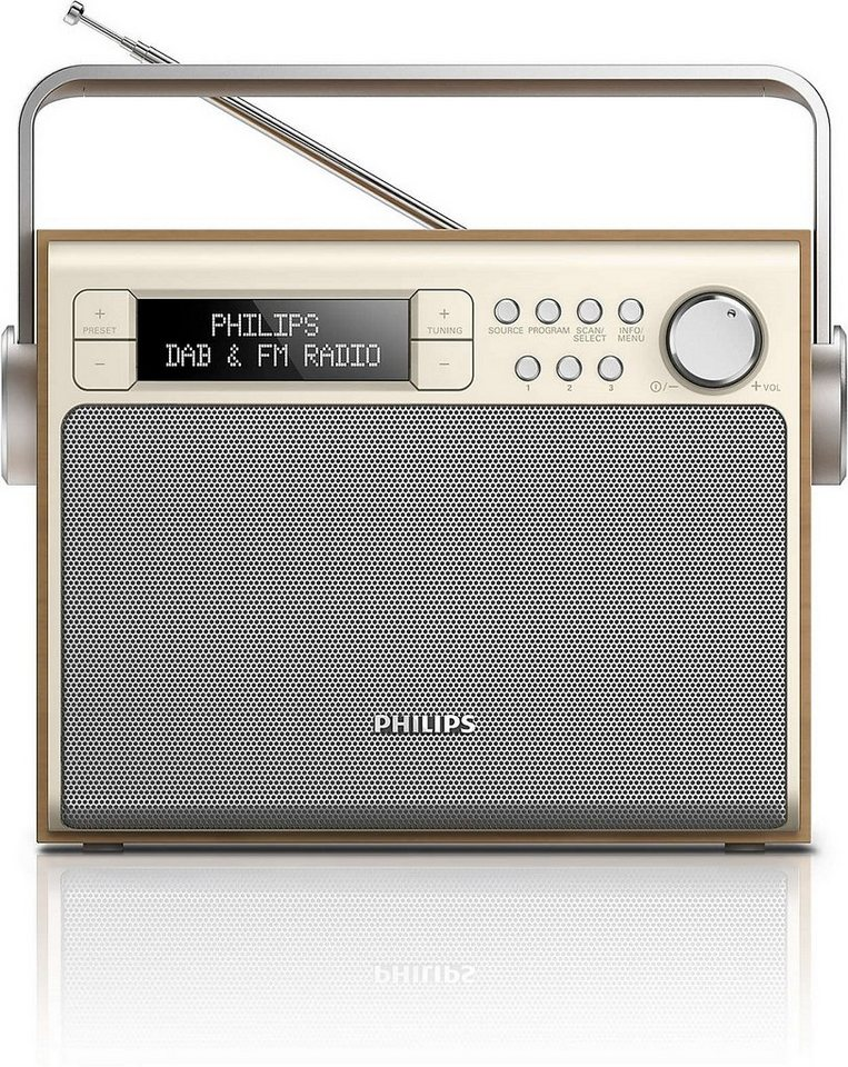 Philips DAB+ Radios »AE5020/12« in silber