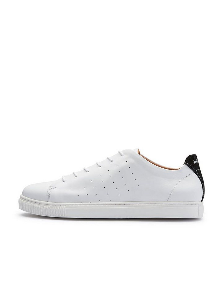 Selected Leder- Sneaker in White