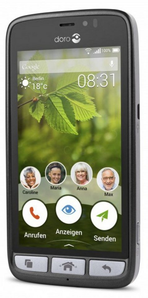 Doro Smartphone »8031« in Anthrazit
