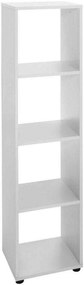 Raumteiler-Regal »4 Fächer«, Breite 32,6 cm in weiß