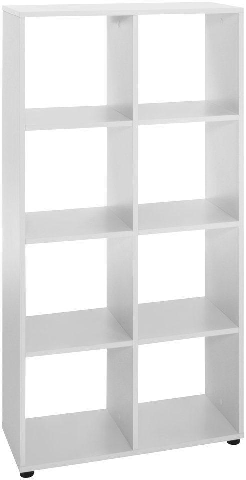 Raumteiler-Regal »8 Fächer«, Breite 63,5 cm in weiß