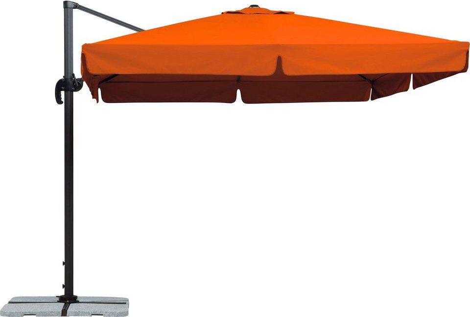 schneider schirme ampelschirm rhodos 300x300 cm otto. Black Bedroom Furniture Sets. Home Design Ideas
