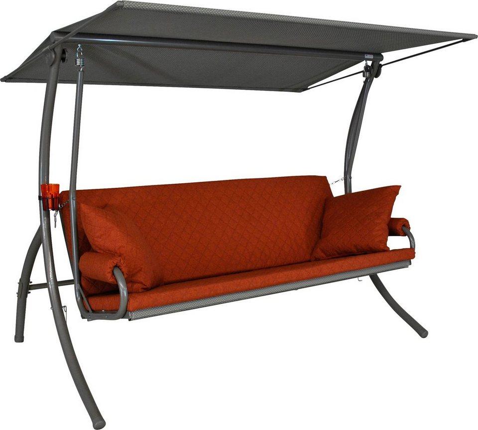 angerer freizeitm bel hollywoodschaukel elegance joy 3. Black Bedroom Furniture Sets. Home Design Ideas