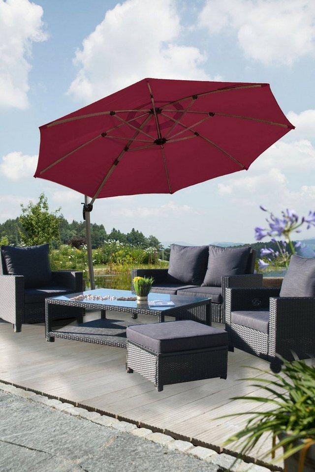 schneider schirme ampelschirm rhodos rondo 350 cm online kaufen otto. Black Bedroom Furniture Sets. Home Design Ideas