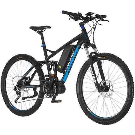 E-Bike Mountainbike »ProlineEvo EM1609«, 27,5 Zoll, 9 Gang, Mittelmotor, 504 Wh