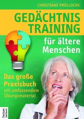Broschiertes Buch »Gedächtnistraining für ältere Menschen«