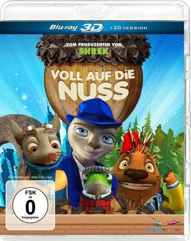 Blu-ray »Voll auf die Nuss (Blu-ray 3D)«