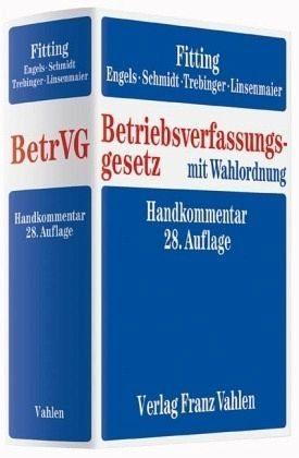 Buch mit Leinen-Einband »Betriebsverfassungsgesetz«