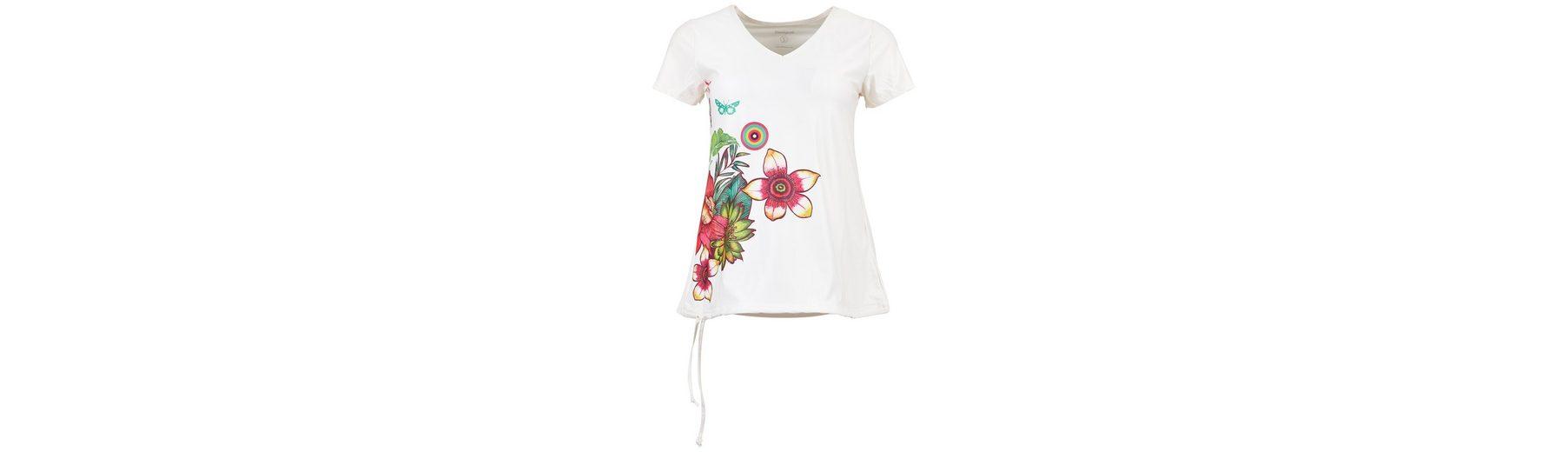 Desigual T-Shirt TS CD T-S V NECK T Auslassstellen Verkauf Online Billig 100% Garantiert Outlet Besten Großhandel Verkauf Billigsten Liefern Billige Online b0jWS