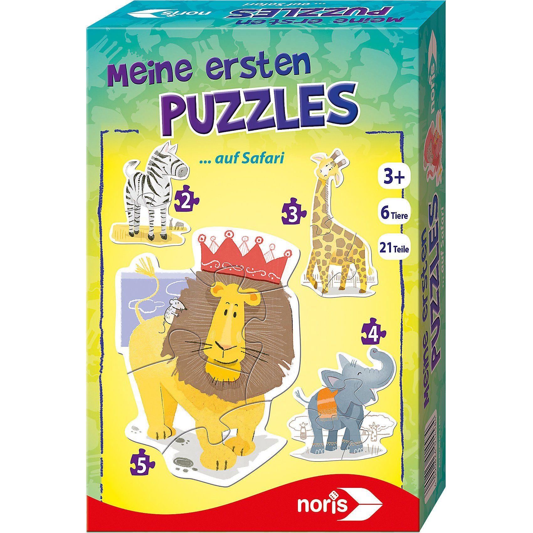 Noris Meine ersten Puzzles - Savanne