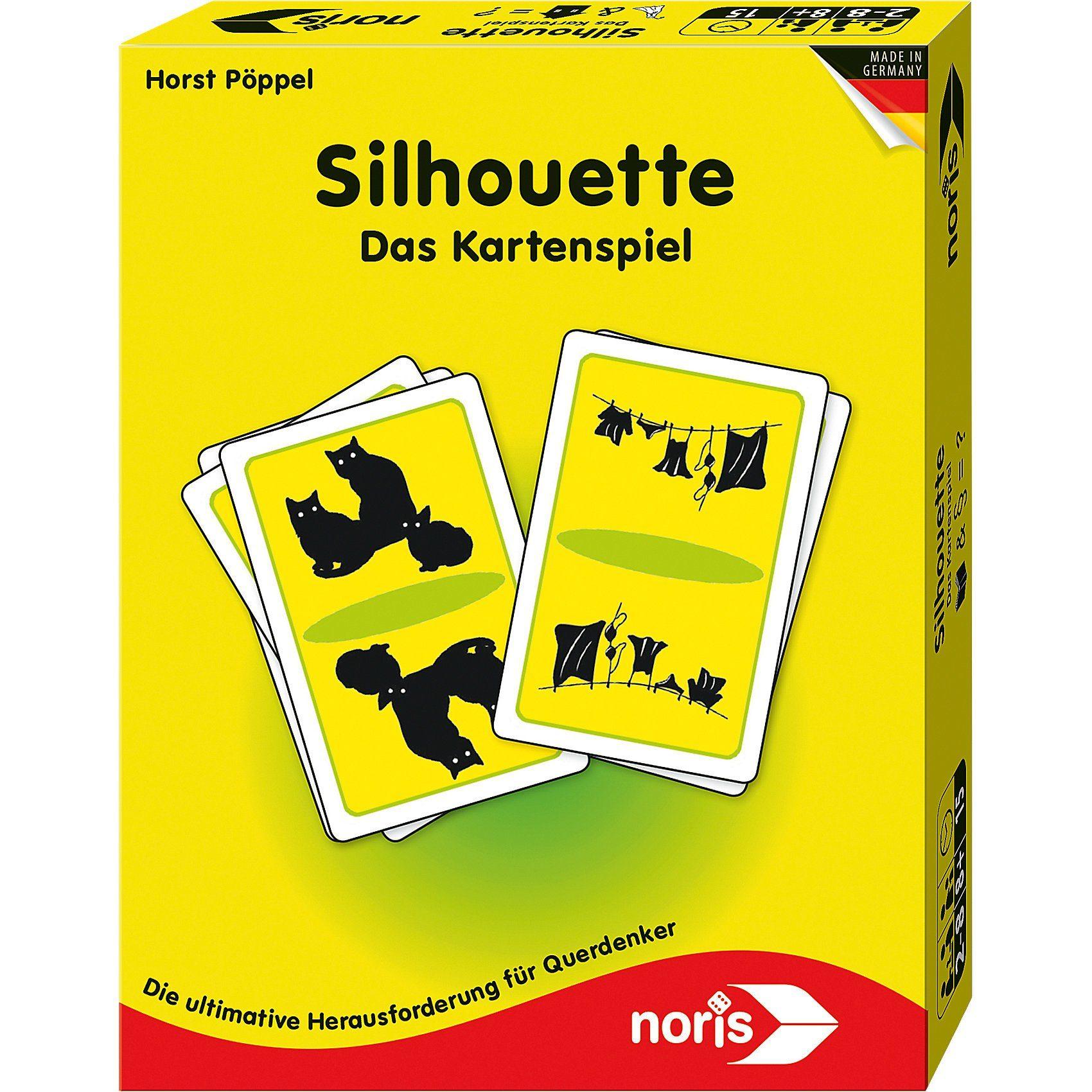 Noris Silhouette - Kartenspiel