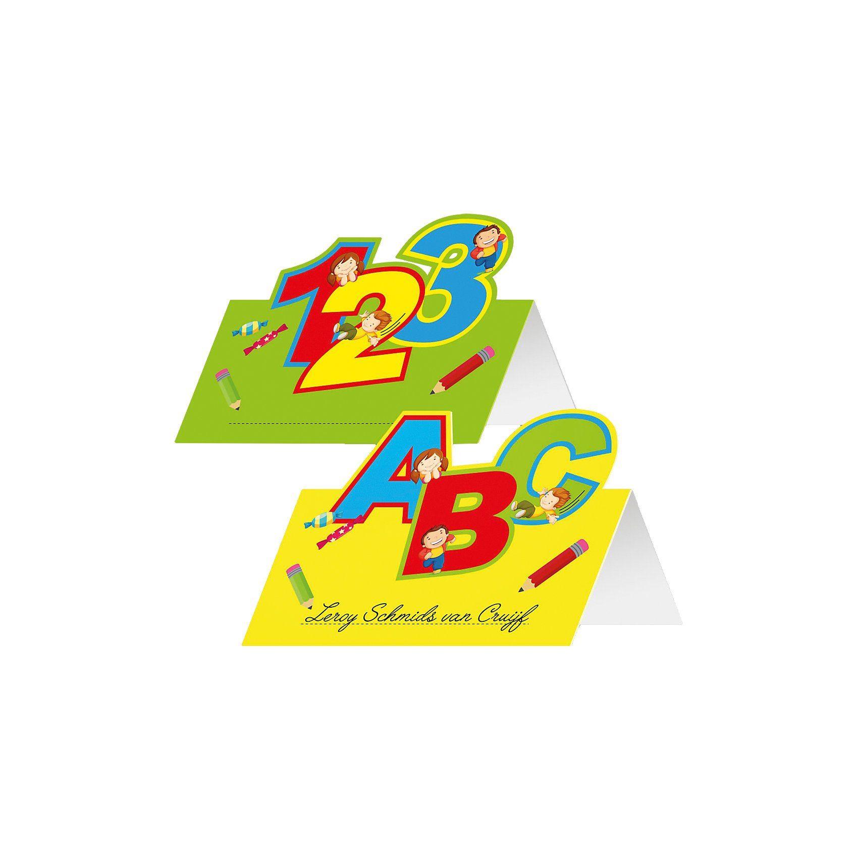 Namenskarten ABC