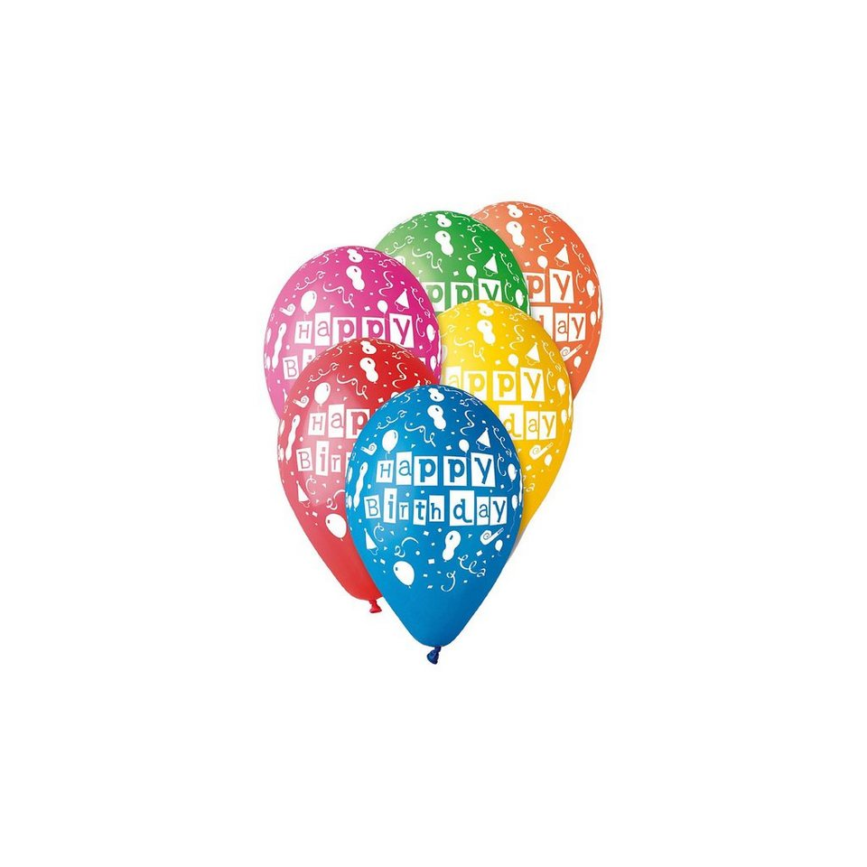 karaloon luftballons happy birthday 30 st ck otto. Black Bedroom Furniture Sets. Home Design Ideas